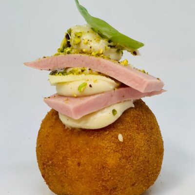 Arancina Ham and Cheese
