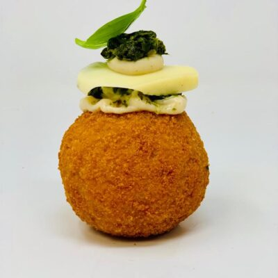 Arancina Spinach and Mozzarella